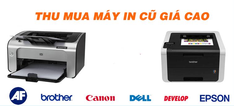 Thu Mua Máy In - Photocopy Hư Cũ Tận Nơi giá cao chất lượng nhất