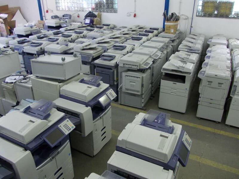 thu mua máy photocopy màu